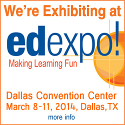 See Us At 2014 Ed Expo